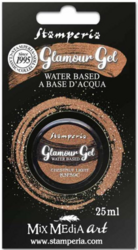Stamperia Glamour Glitter Gel, sävy Chestnut Light
