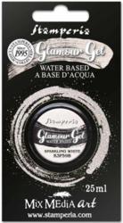 Stamperia Glamour Glitter Gel, sävy Sparkling White
