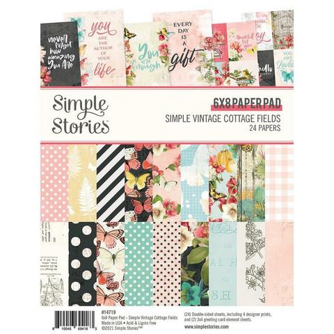 Simple Stories Simple Vintage Cottage Fields -paperipakkaus