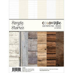 Simple Stories Color Vibe Woods -paperipakkaus