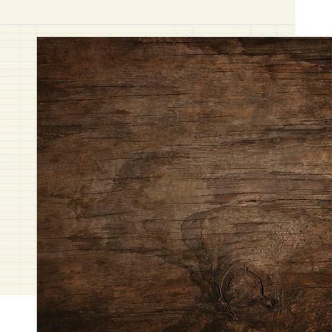 Simple Stories Color Vibe skräppipaperi Walnut/Cream Ledger
