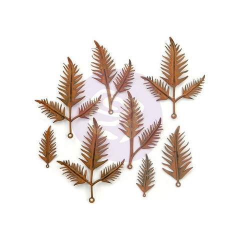 Finnabair Mechanicals -metallikoristeet Woodland Ferns