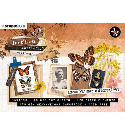 Studio Light korttikuvakirja Just Lou Butterfly Collection