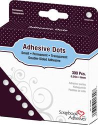 Scrapbook Adhesives Adhesive Dots -tarrapalat, 6 mm