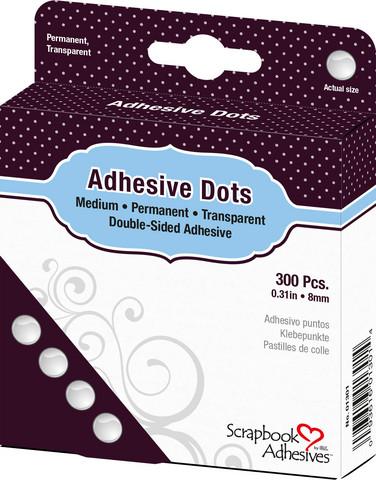 Scrapbook Adhesives Adhesive Dots -tarrapalat, 8 mm
