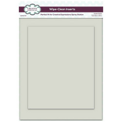 Creative Expressions Wipe-Clean Inserts -alustat