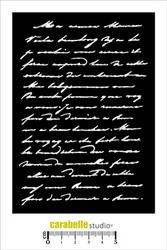 Carabelle Studio Texte manuscrit -sapluuna