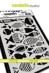 Carabelle Studio Des poissons -sapluuna