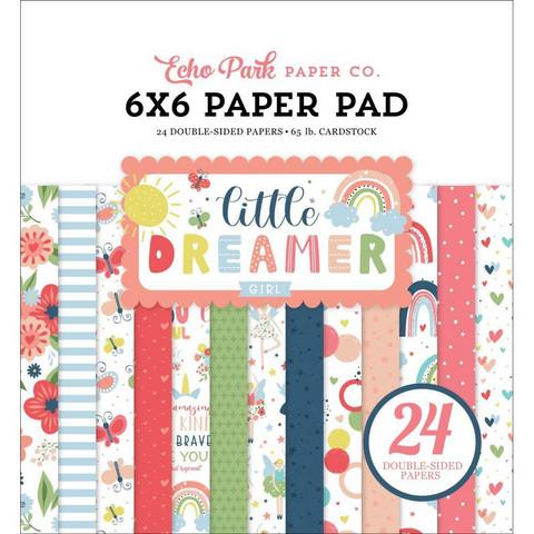 Echo Park Little Dreamer Girl -paperipakkaus