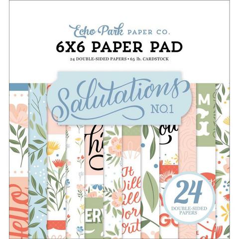 Echo Park Salutations -paperipakkaus