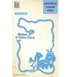 Nellie's Choice stanssi Easter, layer C
