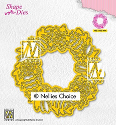 Nellie's Choice stanssi Easter wreath