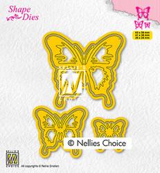 Nellie's Choice stanssi Butterflies