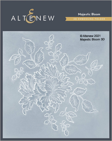 Altenew 3D kohokuviointikansio Majestic Bloom