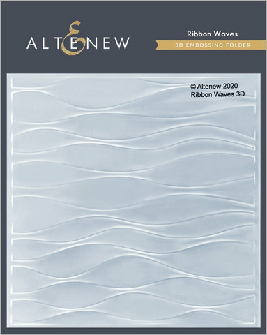 Altenew 3D kohokuviointikansio Ribbon Waves