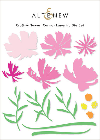 Altenew Craft-A-Flower: Cosmos -stanssisetti