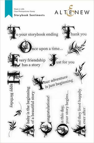 Altenew Storybook Sentiments -leimasinsetti