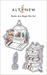 Altenew Books Are Magic -stanssi
