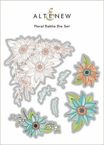 Altenew Floral Dahlia -stanssi