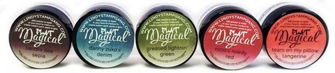 Lindy's Stamp Gang Flat Magicals -jauheet, Go Greased Lightnin