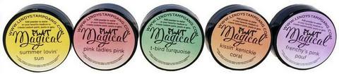 Lindy's Stamp Gang Flat Magicals -jauheet, Beauty School Drop Out