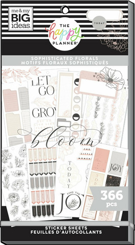 Mambi Happy Planner Value Pack -tarrapakkaus Sophisticated Florals