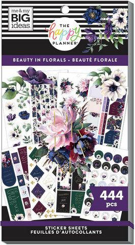 Mambi Happy Planner Value Pack -tarrapakkaus Beauty In Florals