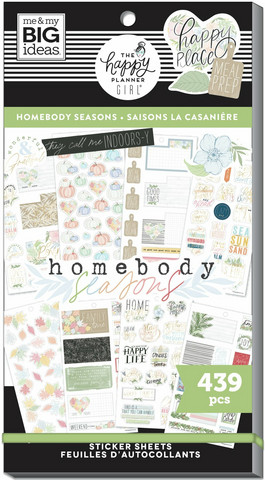 Mambi Happy Planner Value Pack -tarrapakkaus Homebody Seasonal