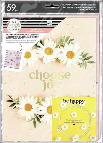 Mambi Planner Companion Classic -pakkaus, Pressed Florals