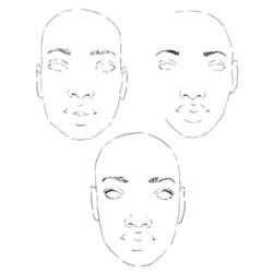 Danielle Mack leimasinsetti Bare Faces