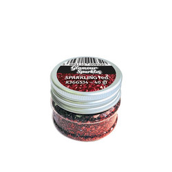 Stamperia Glamour Sparkles -murska, sävy Sparkling Red