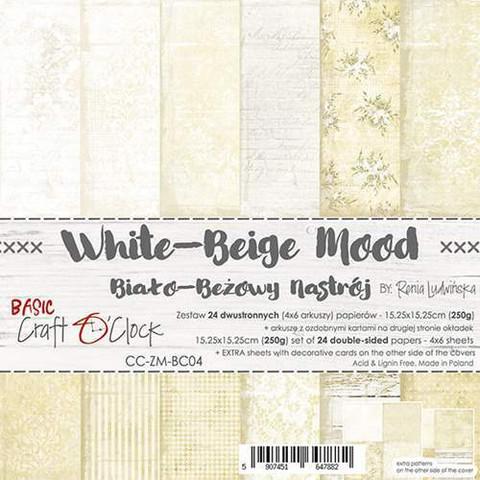 Craft O'clock paperipakkaus White-Beige Mood