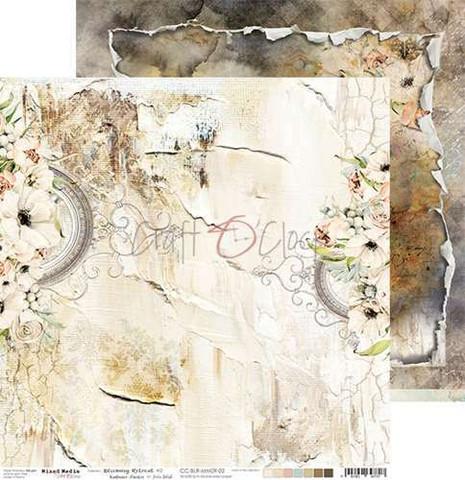 Craft O'clock skräppipaperi Blooming Retreat 02