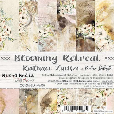 Craft O'clock paperipakkaus Blooming Retreat
