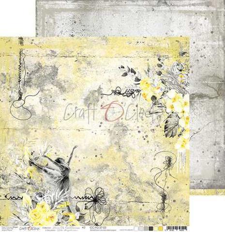 Craft O'clock skräppipaperi Force of Gentleness 02
