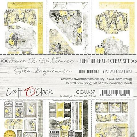 Craft O'clock paperipakkaus Force of Gentleness Junk Journal Extras