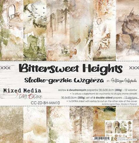 Craft O'clock paperipakkaus Bittersweet Heights, 12
