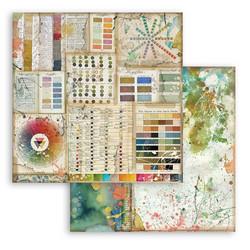 Stamperia Atelier des Arts skräppipaperi Pantone