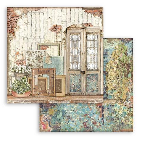 Stamperia Atelier des Arts skräppipaperi Door