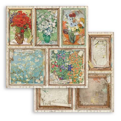 Stamperia Atelier des Arts skräppipaperi Cards
