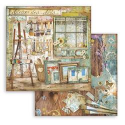 Stamperia Atelier des Arts skräppipaperi Atelier