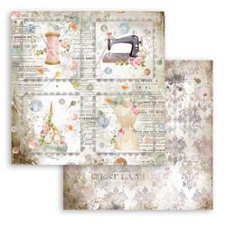 Stamperia Romantic Threads skräppipaperi Cards