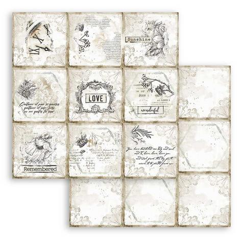 Stamperia Romantic Journal skräppipaperi Cards