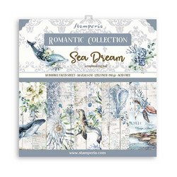 Stamperia paperipakkaus Romantic Sea Dream, 12