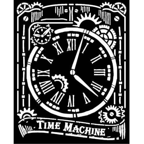 Stamperia sapluuna Voyages Fantastiques Clock