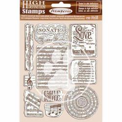 Stamperia leimasinsetti Passion Music