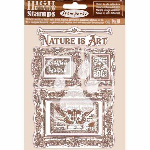 Stamperia leimasinsetti Nature is Art Frames
