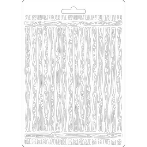 Stamperia Amazonia Wood -muotti (tekstuurilevy)