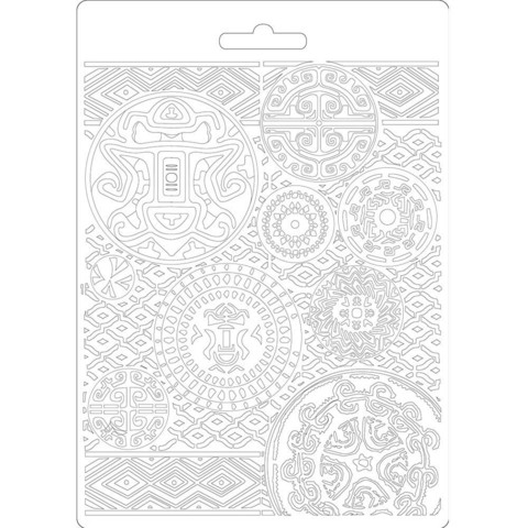 Stamperia Amazonia Texture -muotti (tekstuurilevy)