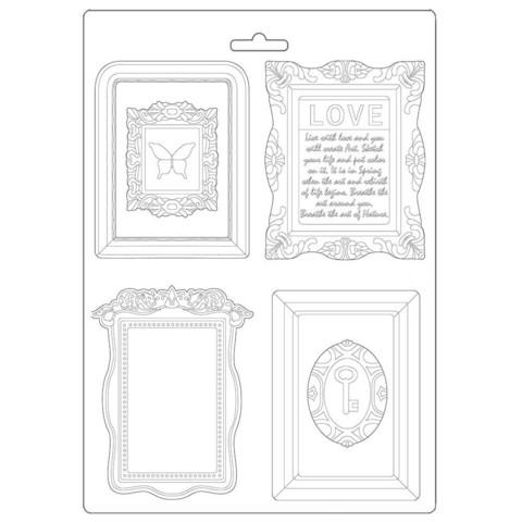 Stamperia Maxi Mould -muotti Atelier Frames